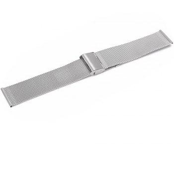 22mm Stainless Steel Mesh Wristband for Huami Amazfit - SILVER