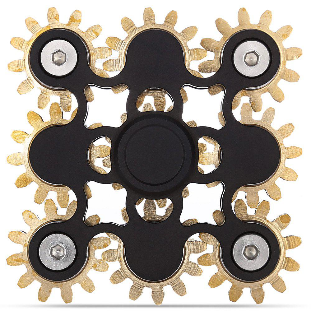 Linkage Fidget Spinner ADHD Stress Relief Product Adult Fidgeting Toy tri fidget hand spinner triangle metal finger focus toy adhd autism kids adult toys finger spinner toys gags