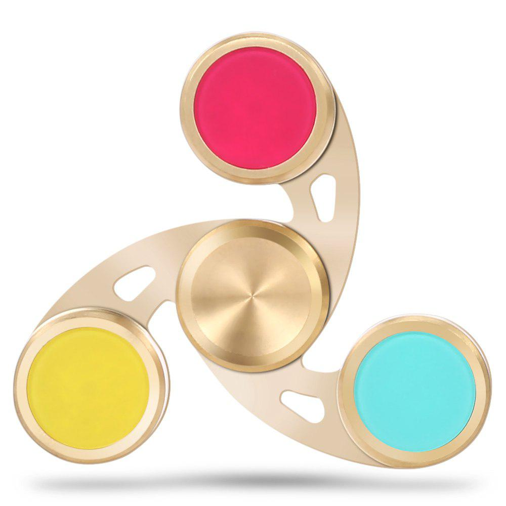 Colorful Fidget Spinner Stress Reliever Pressure Reducing Toy for Worker game darts legering metalen wapen model draaibaar darts cosplay props voor collectie fidget spinner hand anti stress