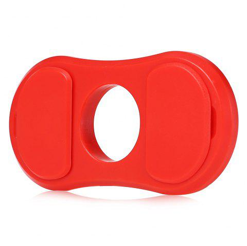 Maikou Multi-function Fidget Spinner Frame Bottle Opener Function Stress Reliever Toy - RED