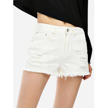 Ripped Cotton Shorts - XL XL