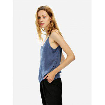 Camisole Top - BLUE GRAY XL