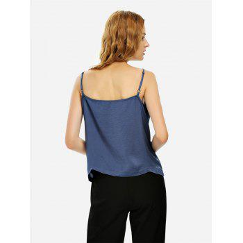 Camisole Top - BLUE GRAY BLUE GRAY