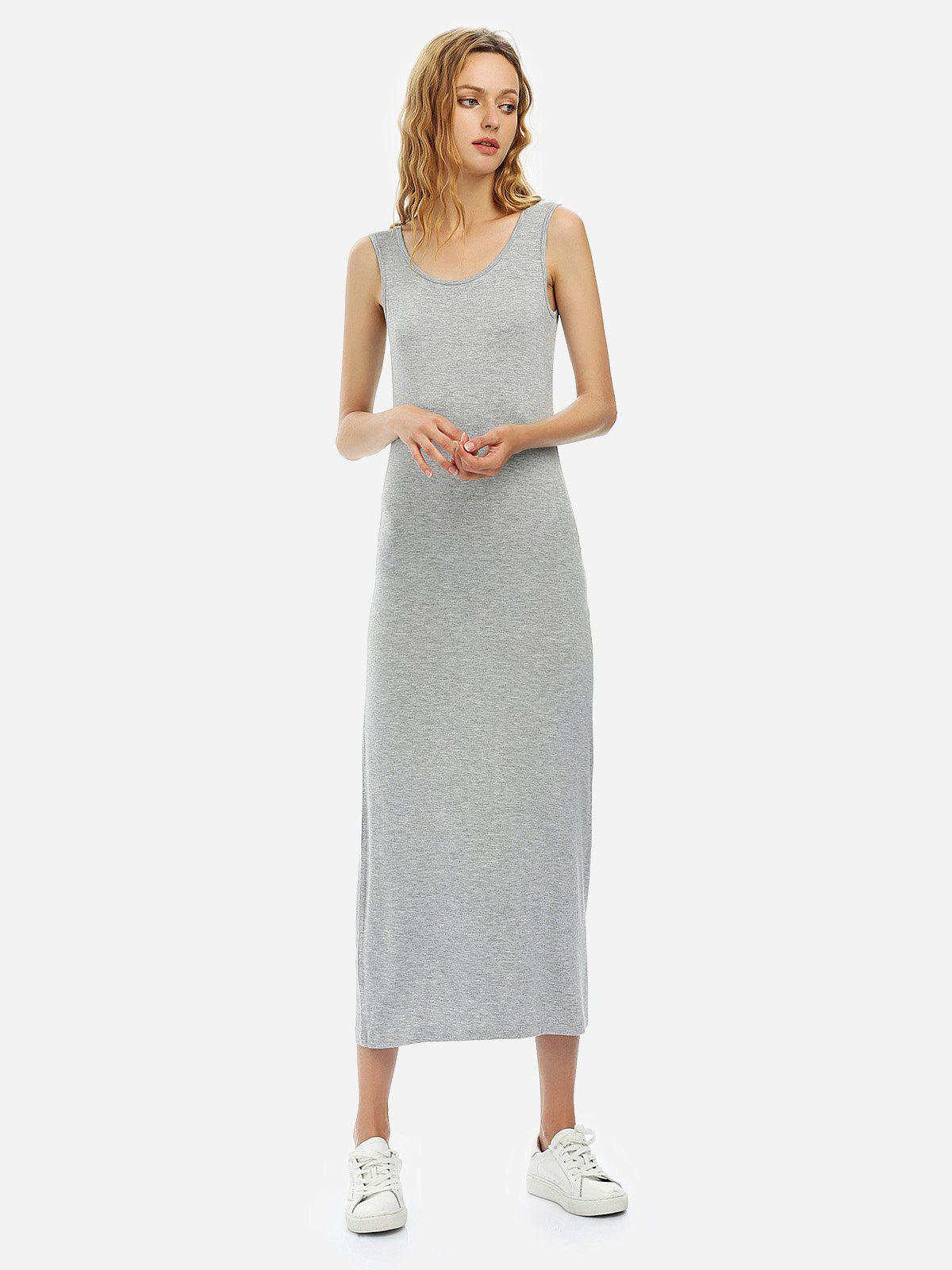 ZAN.STYLE Crew Neck Sleeveless Dress