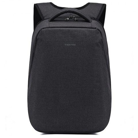 Tigernu T - B3164 21L Polyester Water-resistant Anti-theft Backpack for 17 inch Laptop - BLACK