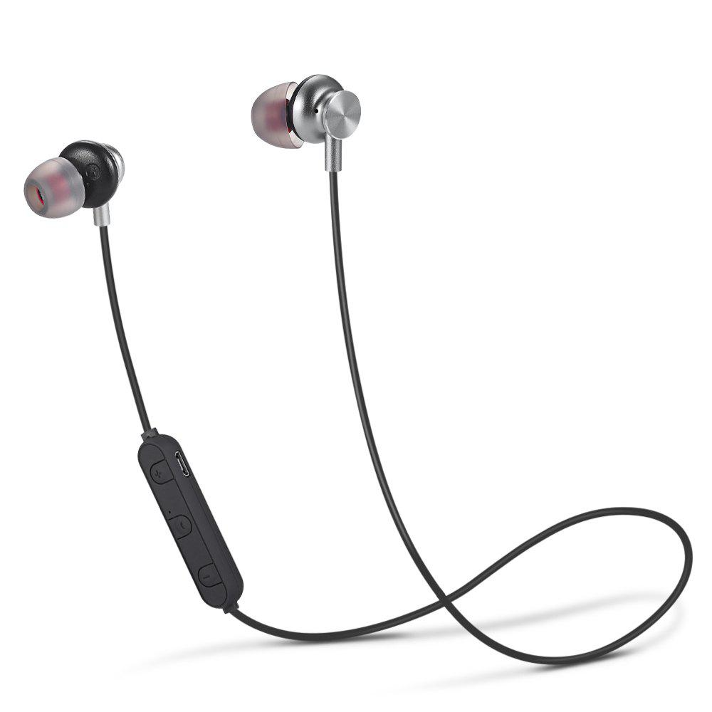 PBP - 012 Bluetooth Sports Earbuds with Mic Support Hands-free Calls - GRAY