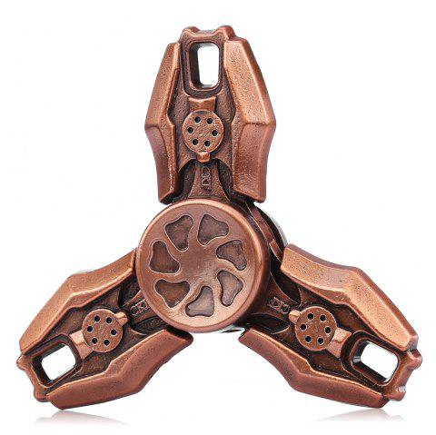 Retro CFK Alloy Fidget Tri-spinner Stress Relief Product Relaxation Gift - COPPER
