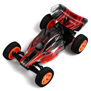 ZINGO RACING 9115 1:32 Micro RC Off-road Car RTR 20km/h / Impact-resistant PVC Shell / Drifting - RED RED