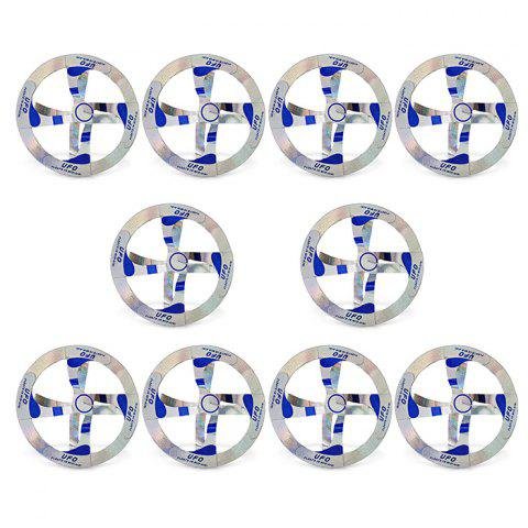 10pcs Mystery Floating Flying Saucer Toy Nice Magic Trick Prop - COLORMIX