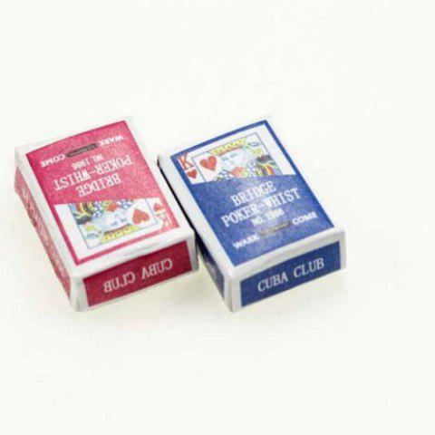 Dollhouse Simulation Mini Playing Card Toy Set - COLORMIX STYLE 1
