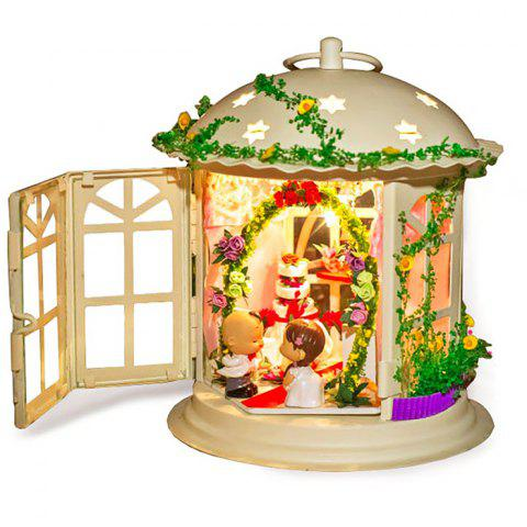 Creative DIY House Palace of Love Artificial Assembly Model Gift - COLORMIX