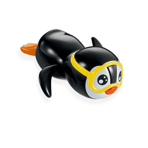 Cool Wind Up Swimming Penguin Bathtub and Swimming Pool Toy - multicolore
