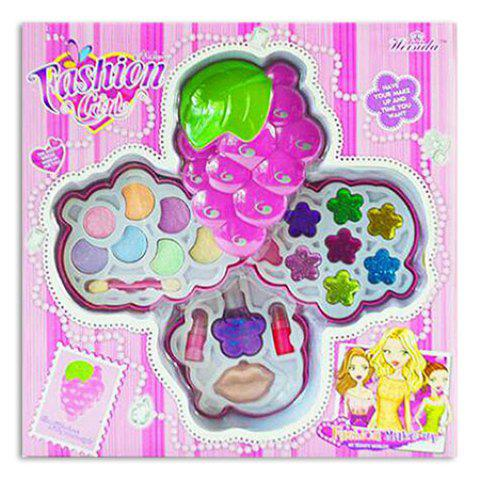 41 Off 2019 Grape Design Fashion Girl Cosmetics Makeup Kit In Pink