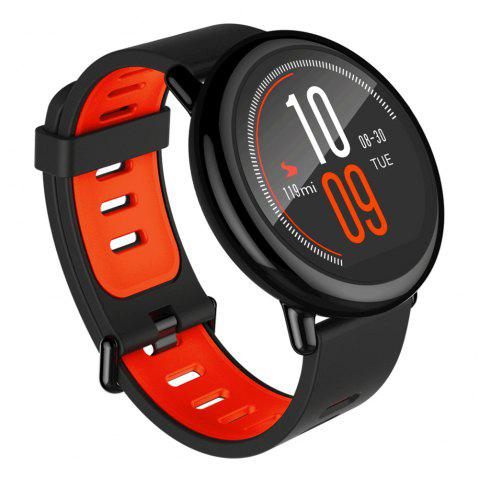 AMAZFIT Sports Smartwatch Bluetooth 4.0 Heart Rate Monitor GPS Pedometer ( Xiaomi Ecosystem Product ) - BLACK INTERNATIONAL VERSION
