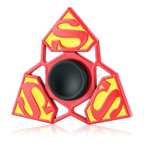 Tri-blade S Pattern Alloy Fidget Spinner Stress Relief Product Adult Fidgeting Toy - COLORMIX