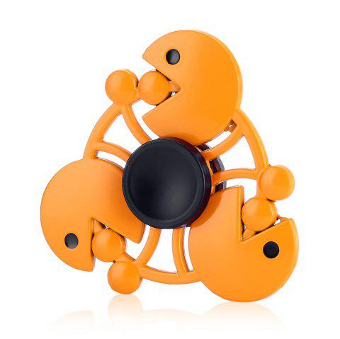 Eating Dot Game Alloy Fidget Spinner Stress Relief Product Relaxation Gift - ORANGE