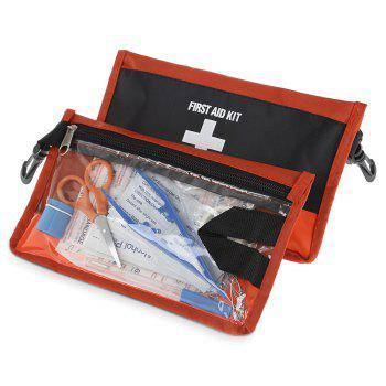 2PCS 12 in 1 Emergency First Aid Kit Medical Bag for Outdoor Survival Adventure Travel Home Use