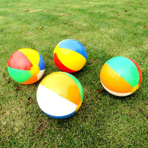 1pc Colorful Outdoor Inflatable Water Pool Ball Toy for Kids - COLORMIX