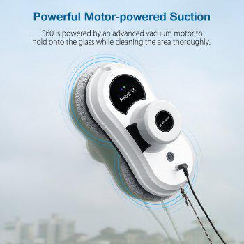 Alfawise S60 Robotic Window Cleaner Automatic Glass Cleaning Robot - WHITE WHITE
