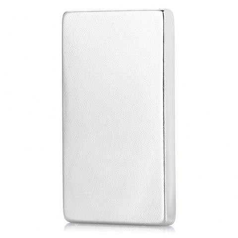 50 x 30 x 5mm Rectangle N52 NdFeB Magnet - SILVER