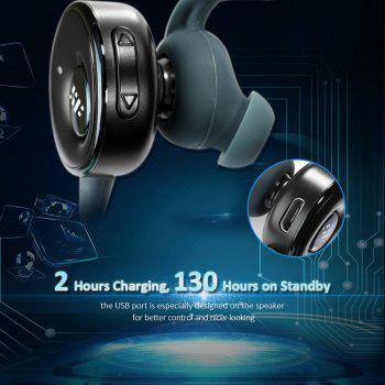 Siroflo S05 Bluetooth Headphone Sports Earphone - CADETBLUE
