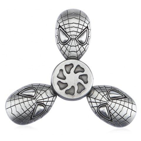 Cool Alien Zinc Alloy Fidget Tri-spinner Stress Relief Product Relaxation Gift - SILVER