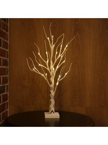 zanflare led silver birch light