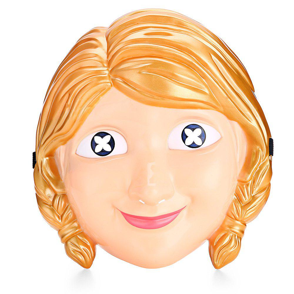 Cartoon Princess Character Halloween Themed Mask - multicolore
