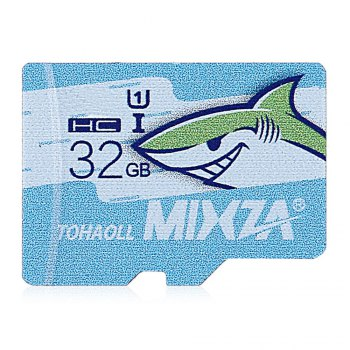 MIXZA TOHAOLL Ocean Series 32GB Micro SD Memory Card Storage Device - COLORMIX 32GB