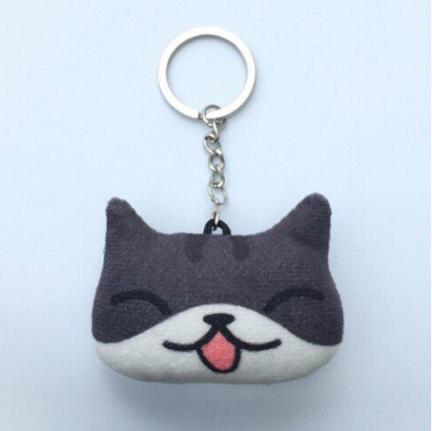 Cartoon Style Plush Key Chain Hang Decoration for Mobile Phone / Bag / Car - COLORMIX STYLE2