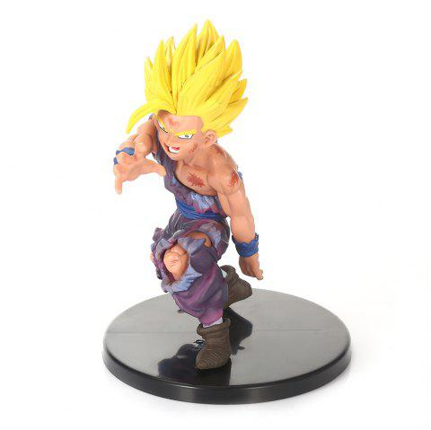 Figurine Japonaise De Personnage De Dessins  Animés Combat 11.5CM Pour La Collection - multicolore