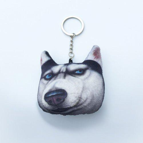 Cartoon Style Plush Key Chain Hang Decoration for Mobile Phone / Bag / Car - COLORMIX STYLE 1