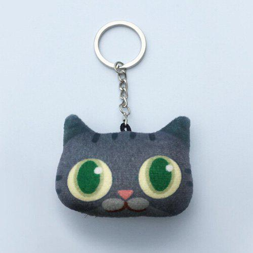 Cartoon Style Plush Key Chain Hang Decoration for Mobile Phone / Bag / Car - COLORMIX STYLE 4