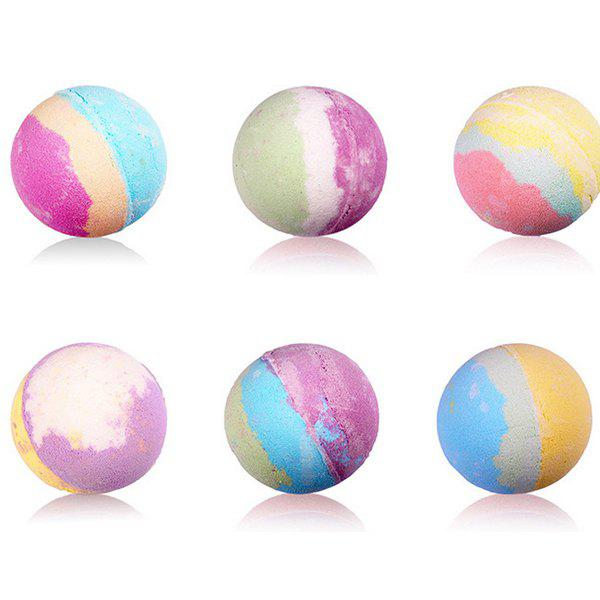 Popular Ball Shape Foamless Bath Bomb 1PC - COLORMIX