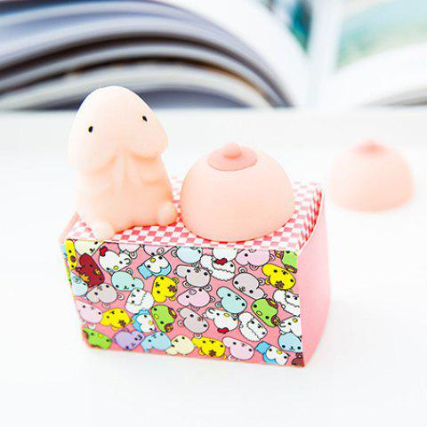 Anti-stress Squishy Squeeze Soft Stretchy Kawaii Animal Toy - COLORMIX
