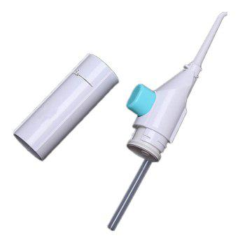 80ml Portable Dental Water Flosser Cordless Teeth Cleaning Tool -  SNOW WHITE