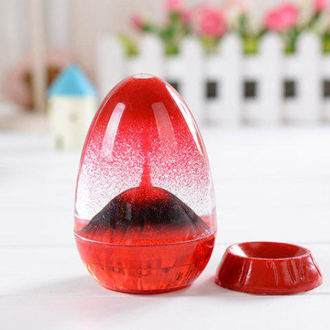 Egg Sand Clock Oil Hourglass for Home Decoration Relax Gift - COLORMIX
