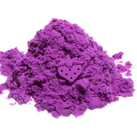 Creative Non-toxic Play Sand Intelligence Toy for Kids - PURPLE