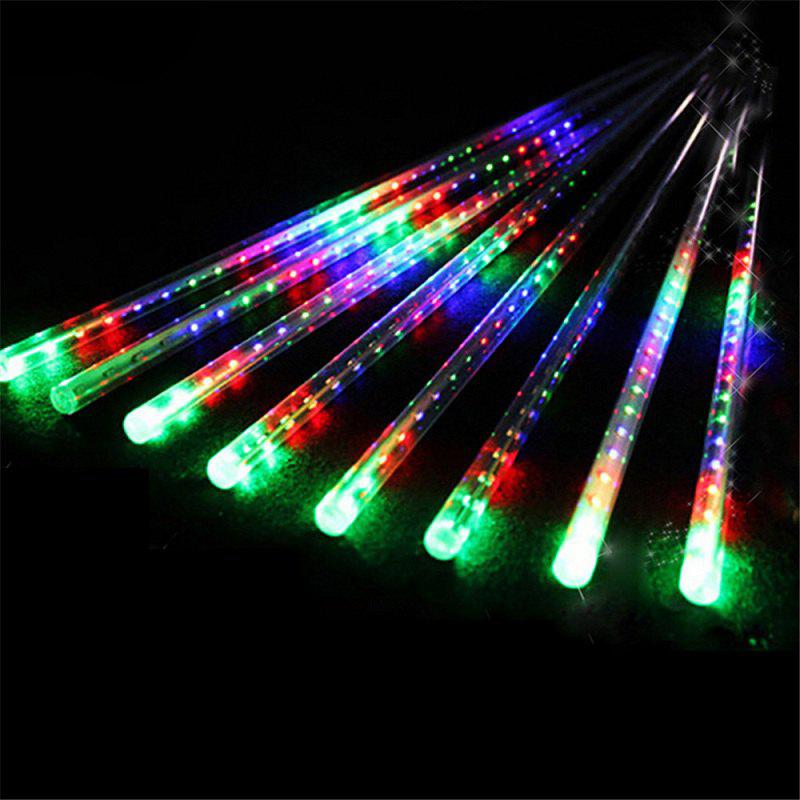 2018 30CM 8 Tubes Christmas LED Meteor Shower Rain Lights