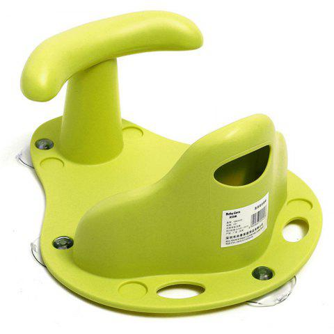 2-in-1 Infant Anti Slip Bath / Dinning Baby Security Chair - GREEN