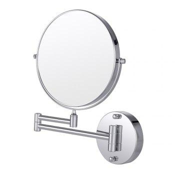 COZZINE CZ - 4001 - S01 10X Double-Sided Swivel Wall Mount Makeup Mirror - SILVER SILVER