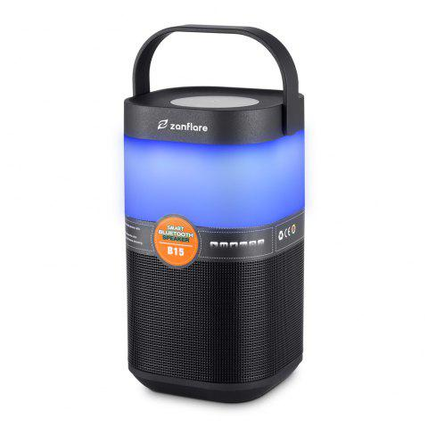 zanflare B15 Bluetooth Speaker Light with FM / Hand-free Function - BLACK