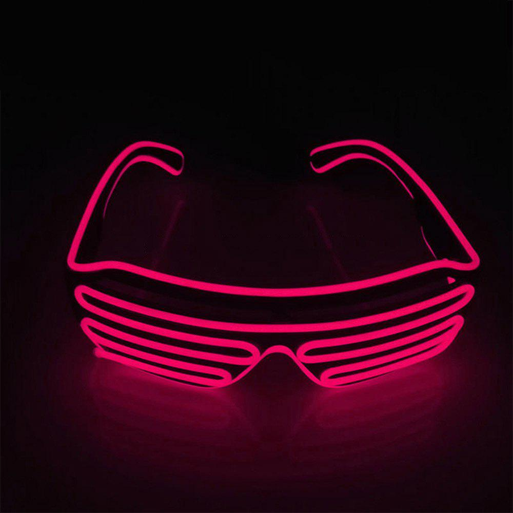 YouOKLight DC 3V 3 Modes Sound Control Flash El LED Glasses Luminous Party Lighting Colorful Glowing Classic Toys for Dance DJ Party Mask 1PC 229914406