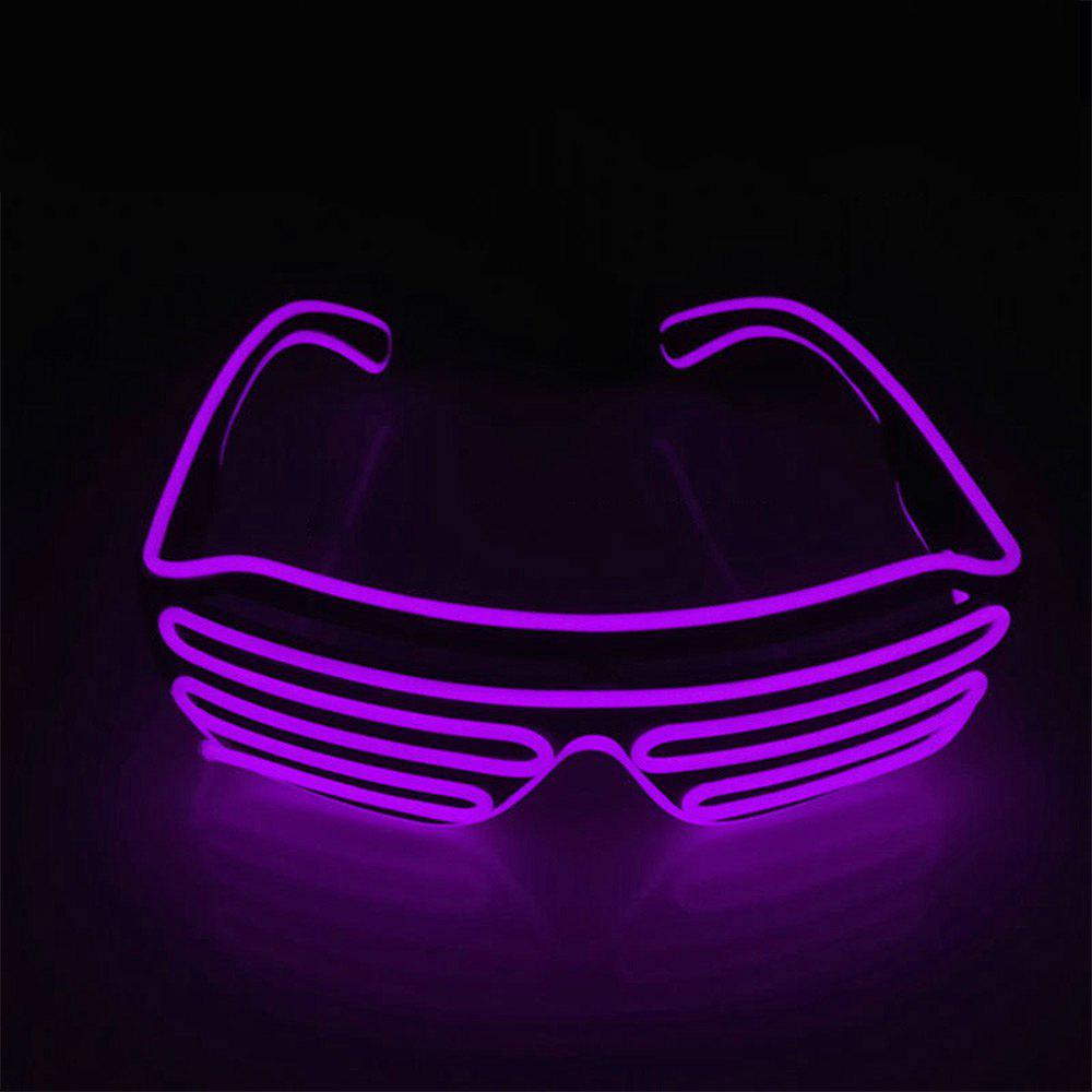 YouOKLight DC 3V 3 Modes Sound Control Flash El LED Glasses Luminous Party Lighting Colorful Glowing Classic Toys for Dance DJ Party Mask 1PC 229914408
