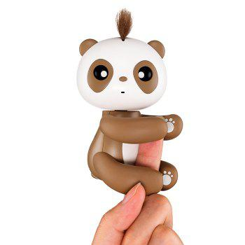 Interactive Panda Style Electronic Toy for Children - BROWN