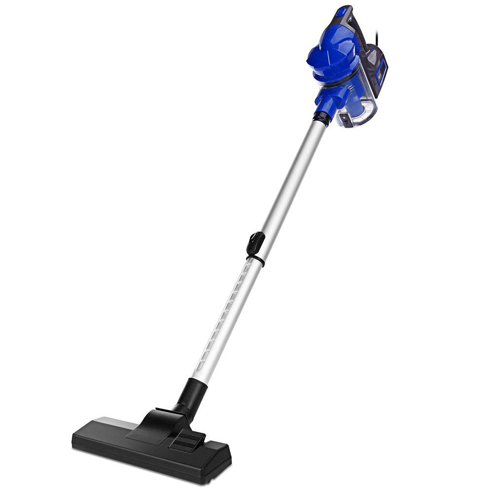 SV - 829 Portable 2-in-1 Handheld Vacuum Cleaner Powerful Cleaning Dust Catcher - BLUE