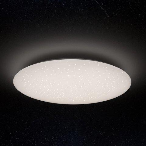 Yeelight JIAOYUE YLXD04YL 450 Smart APP / WiFi / Bluetooth Control LED Ceiling Light 200 - 240V with Remote Controller - WHITE STARRY LAMPSHADE