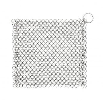 zanmini ZS04 Square Stainless Steel Chainmail Scrubber - STAINLESS STEEL STAINLESS STEEL