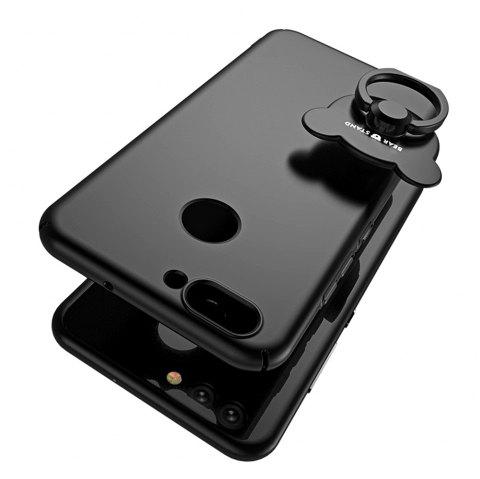 Full-body Protective The Outer Ring Cell Phone Holder Case for HUAWEI Nova2 - BLACK