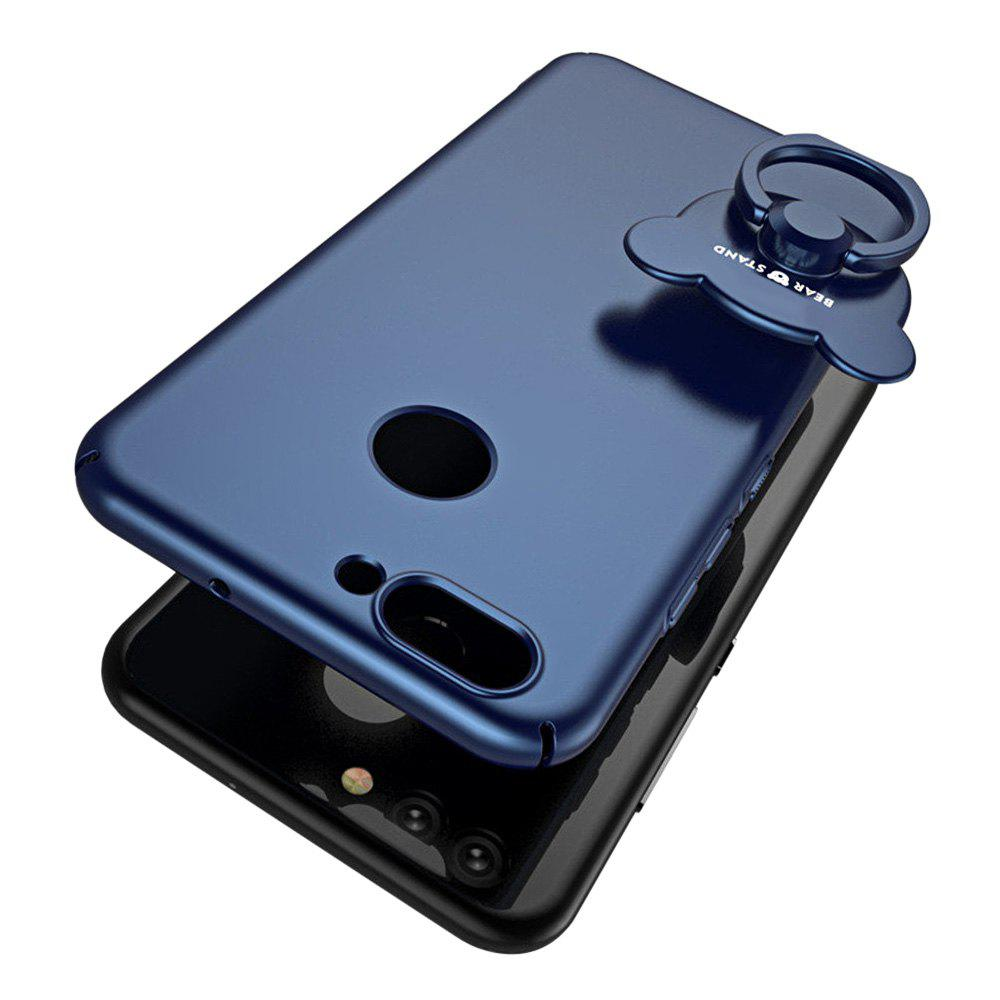 Full-body Protective The Outer Ring Cell Phone Holder Case for HUAWEI Nova2 - BLUE